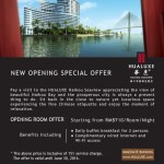 IHG New Opening Hotel – Hualuxe Haikou Seaview Special Room Offer Strats from RMB710/Room/Night